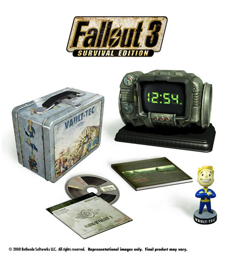Collectorsedition. Org » blog archive » unboxed: fallout 3 survival.