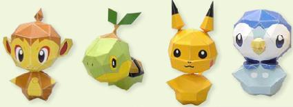My Pokemon Ranch Makes For Great Papercraft