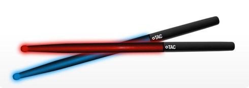 Lets Rave Over Tacs Illuminated Drumsticks
