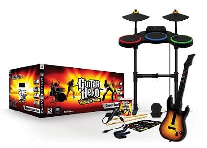 Guitar hero world tour to cleverly use sd cards on wii for song.