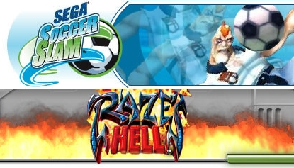 sega soccer slam and raze s hell will be coming to an xbox originals