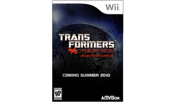 War for Cybertron dubbed 'Transformers: Cybertron Adventures' for Wii