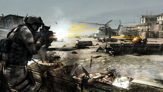 Future Soldier screen - airplane