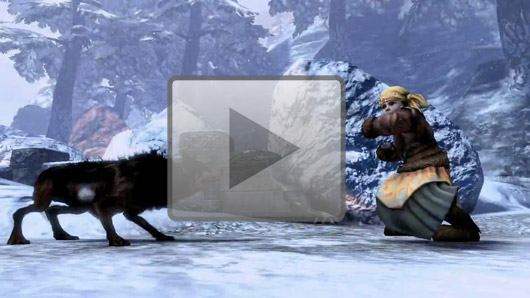 Fable 3 combat video is not safe for wolves