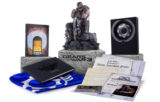Gears of war 3 epic edition unboxing youtube.