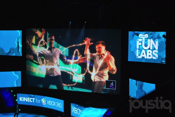 E3 2011 Microsoft Games: Kinect Fun Labs