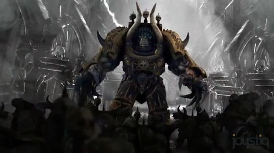 Warhammer 40k Space Marine Bombards Your Brain With Four