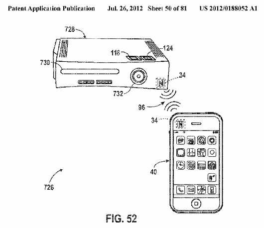 Apple Patents Nfc Tech For Controlling Gadgets With Ithings