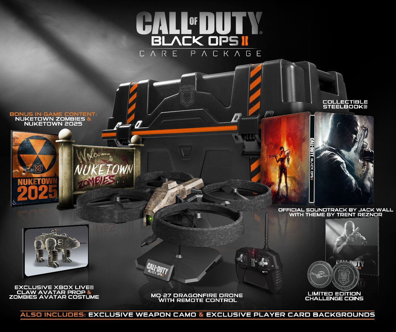 Call Of Duty Black Ops Ii Limited Editions Unveiled 180 Care
