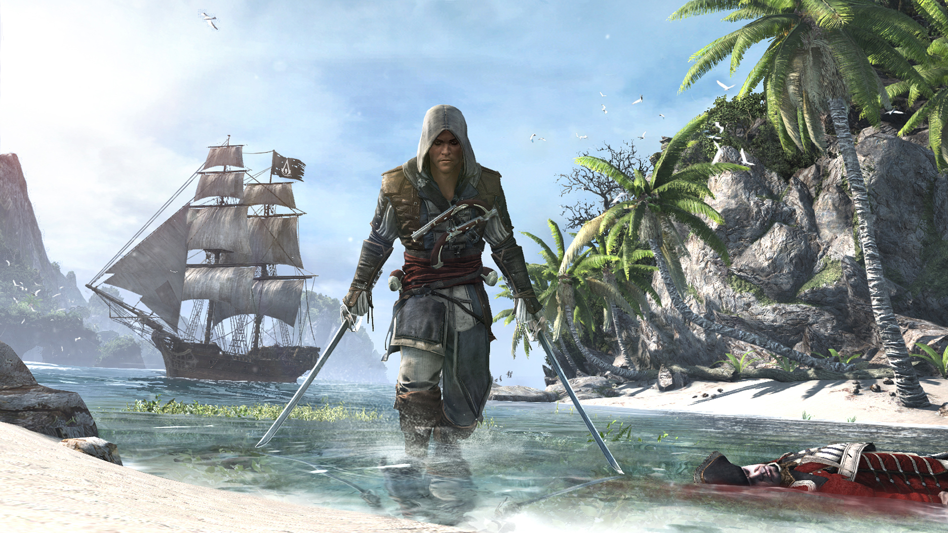 Assassin's Creed 4: Black Flag debut trailer sets sail, screens too