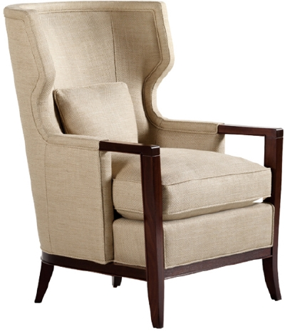 Vintage Blind Wingback Chairottoman Office Chairs Ikea