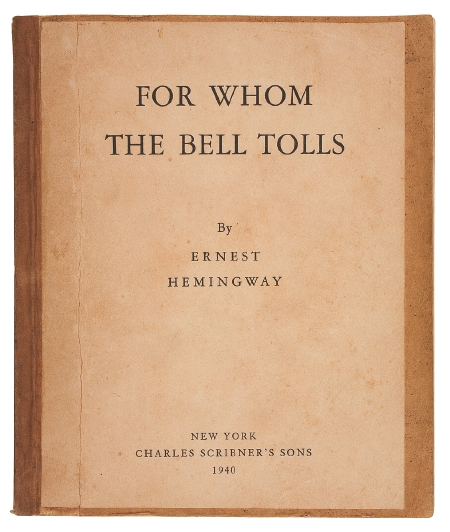 A literary analysis of for whom the bell tolls