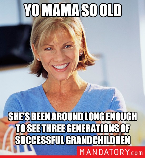 Positive Yo Mama: A New Meme