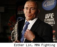 Georges St-Pierre will defend his UFC welterweight title against Jake Shields at UFC 129.