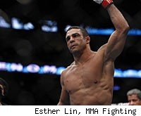 Vitor Belfort faces Anthony Johnson at UFC 142 in Brazil.