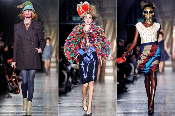 Catwalk Review Vivienne Westwood Red Label A W 2011 12