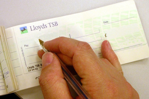How to write a cheque uk barclays share