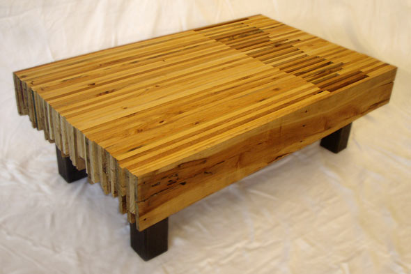 zero waste pallet table by Blue Boat Home Design