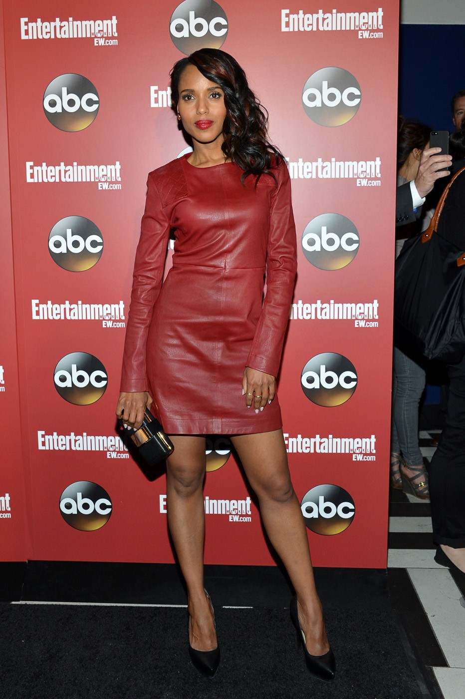 Top 9 Fashion Magazine Covers September 2013 Fashioncover: Top 9 At 9: Kerry Washington's Leather Obsession, D.C