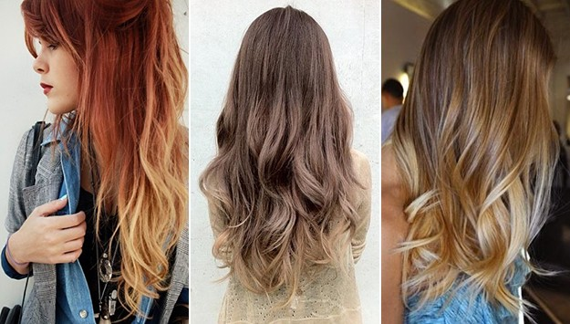 Light Brown Hair Style: Ombre Hair: Inspiration To Bring To The Salon