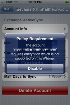 iphone return policy iphone os 3 1 now enforces exchange encryption policy may 5940