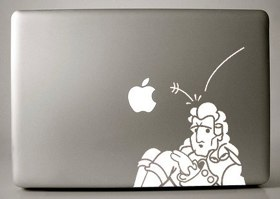Pimp Your MacBook Pro With Custom Vinyl Decals - Custom vinyl decals for macbook pro