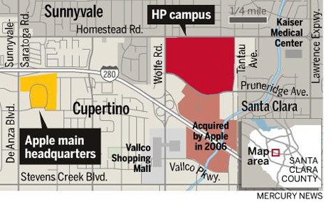 Apple buys former HP campus in Cupertino on