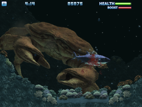 Chew through the undersea ecosystem in Hungry Shark Trilogy HD